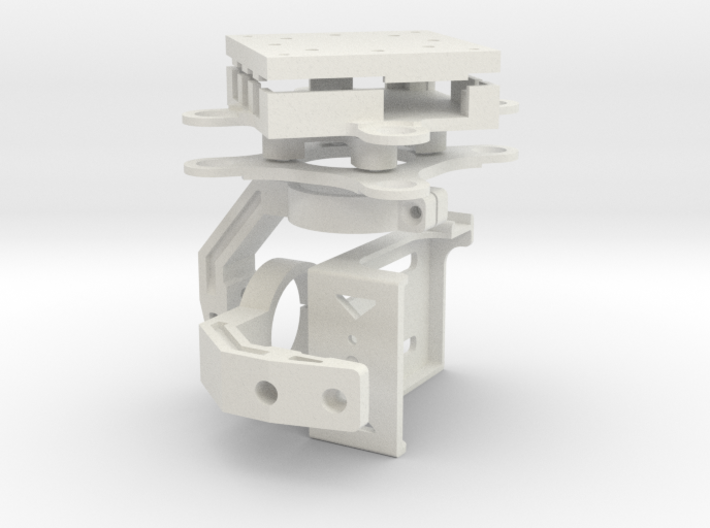 GoPro3/Storm32 3 Axis Gimbal - Frame Kit 3d printed
