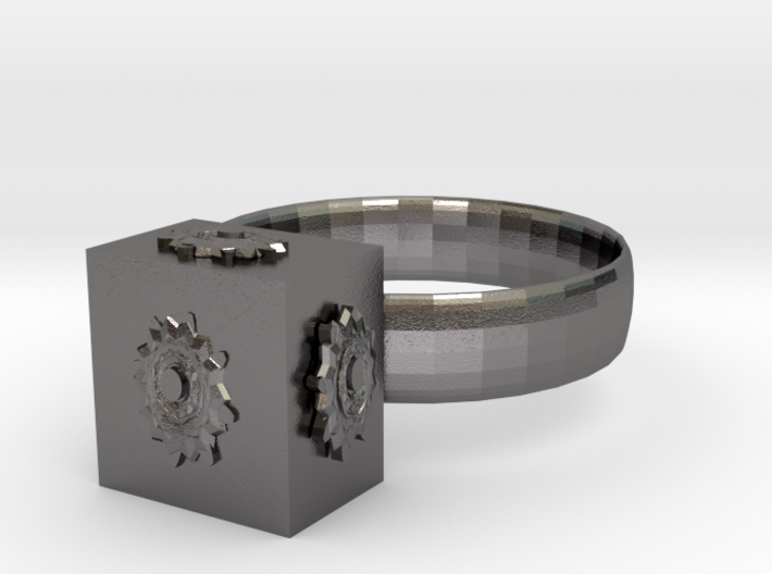 Dr Who The Pandorica Ring 3d printed