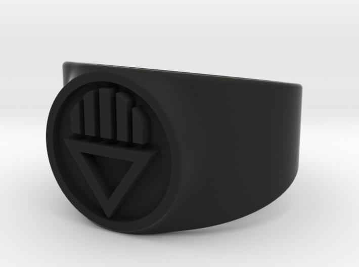 Black Death GL Ring (Sz's 5-15) 3d printed