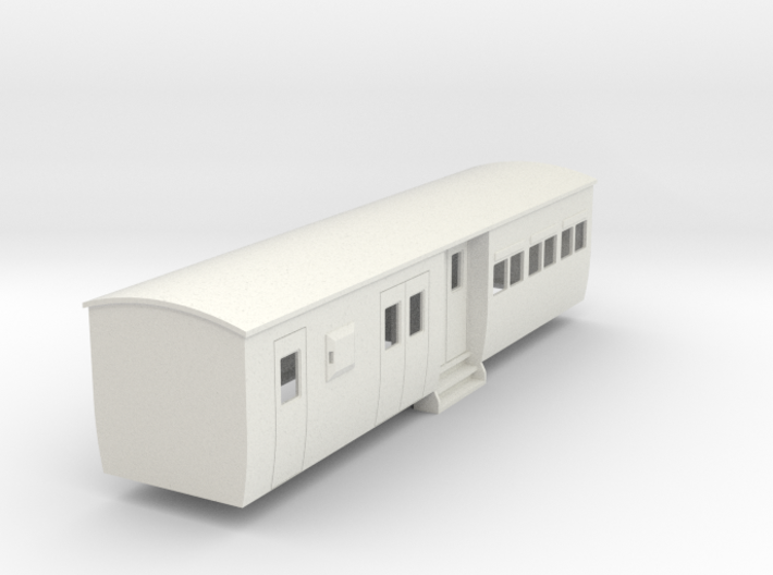 009 colonial modern commuter brake coach 3d printed