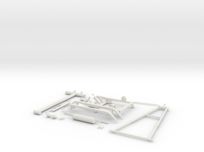 Pantograph Tenth Scale 3d printed