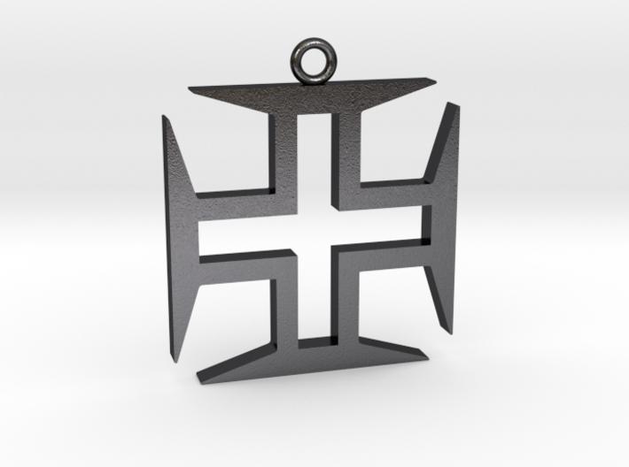 Hollow Cross 3d printed