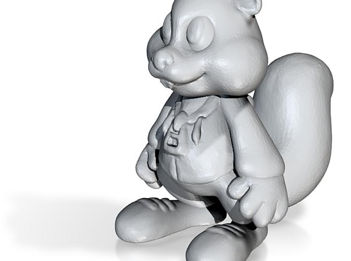 Rare squirrel 3d printed