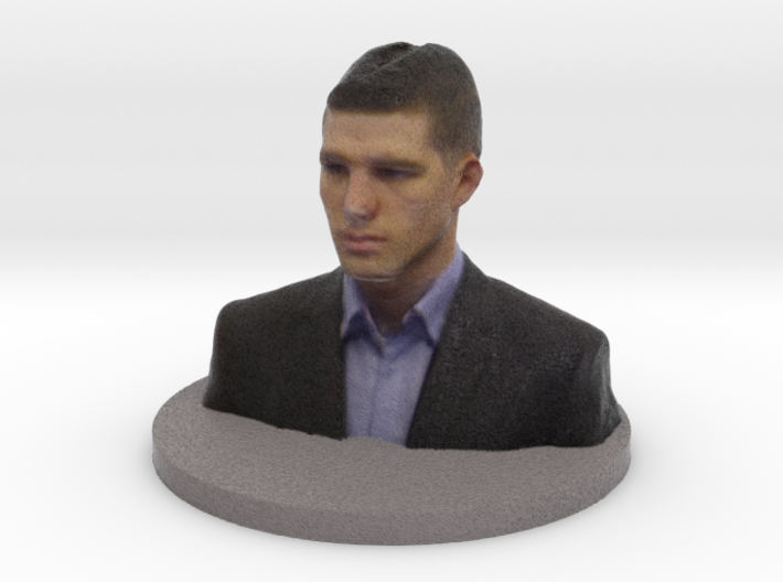 Michael BIG WRL 3d printed