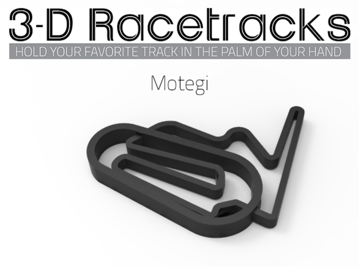Motegi 3d printed Track with no run off areas