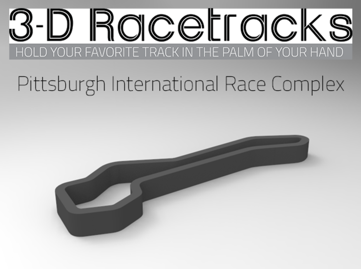 Pittsburgh International Race Complex 3d printed