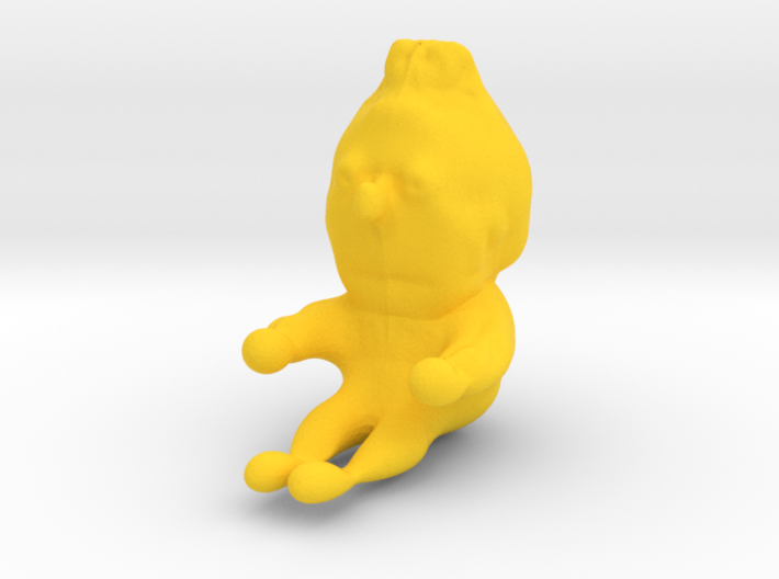 Bert from Sesame Street 3d printed