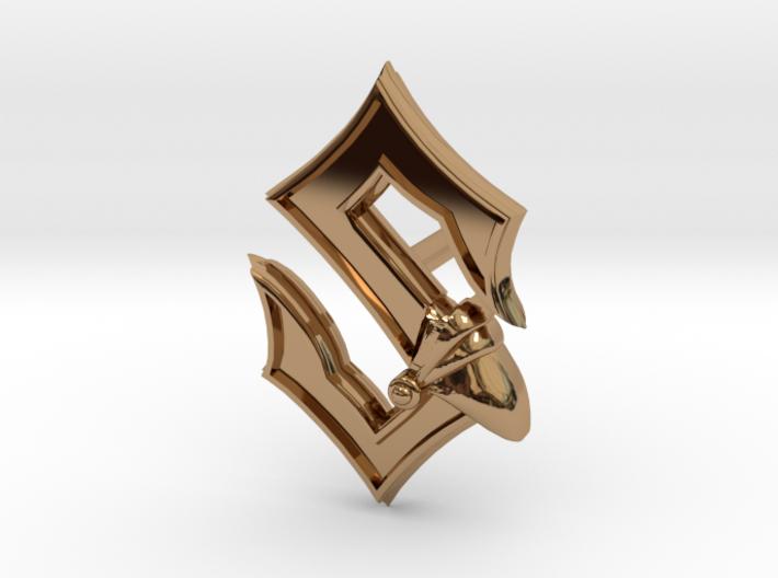 Sabaton Pin Earring 3d printed