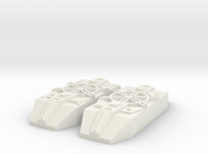 Fighter Model Pieces #37 3d printed
