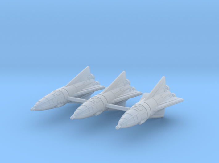 IPF Peregrine Fighter Rocket Wing 3d printed