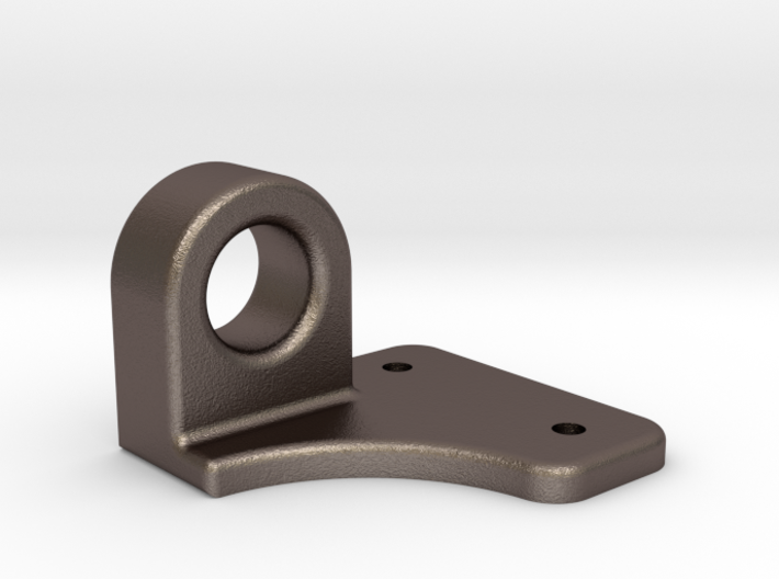 """Coupler Release Bracket A - 2.5"""" scale 3d printed"""