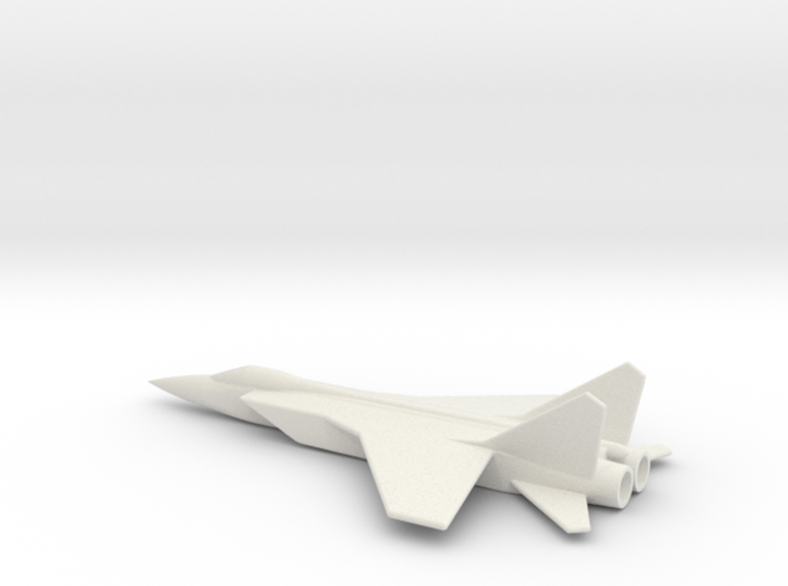 MiG-31 Foxhound 1/285 scale Russian interceptor 3d printed