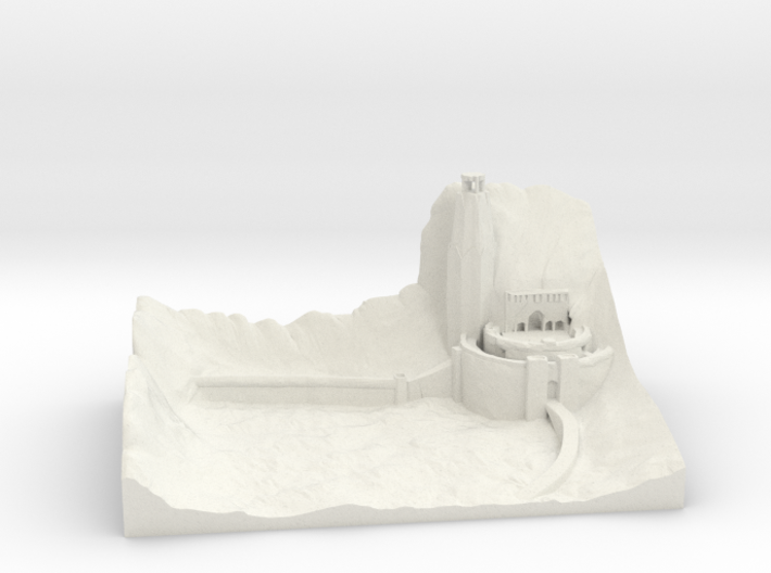 The Lord of the Rings - Helm's Deep 3d printed
