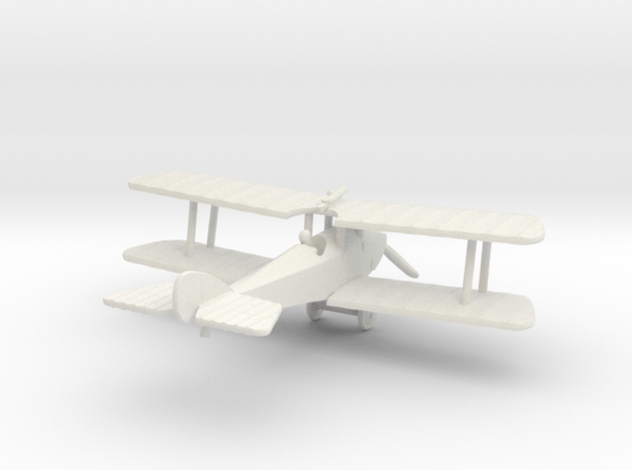 Martinsyde S.1 (Vee Undercarriage) 3d printed 1:144 Martinsyde S.1 in WSF