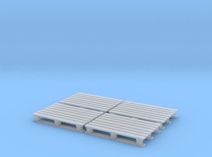 1:87 Chemie Palette CP2 4er Set 3d printed