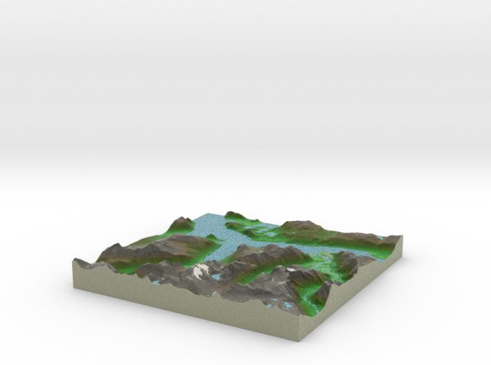 Terrafab generated model Fri Aug 29 2014 02:23:36 3d printed