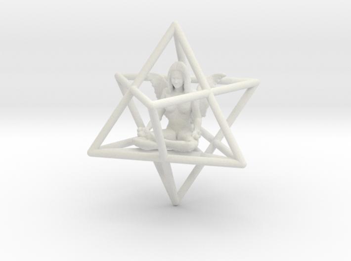 Angel Star Tetrahedron Merkabah 42mm 3d printed