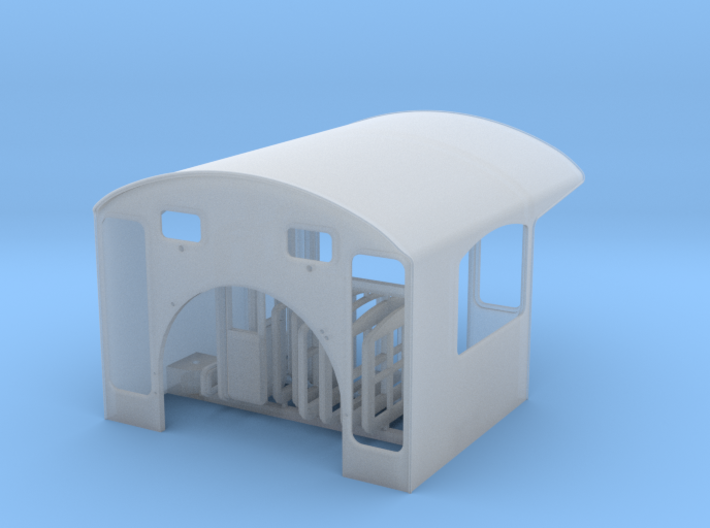 Southern Ry Cab for Spectrum 4-6-0 - HO scale 3d printed