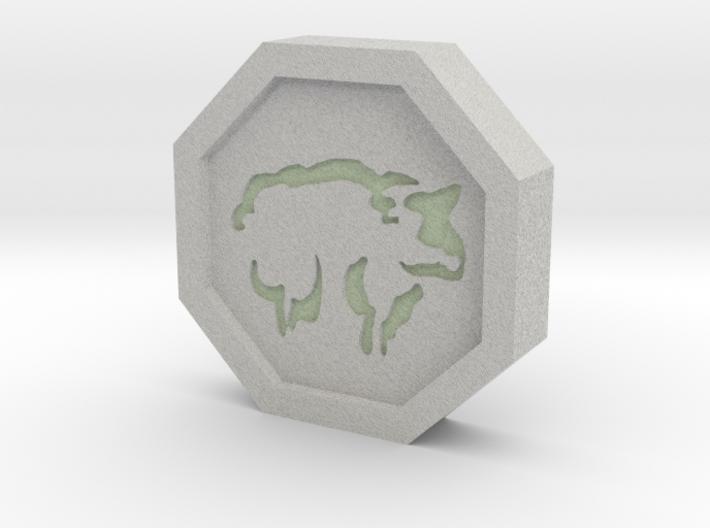 Sheep Talisman 3d printed