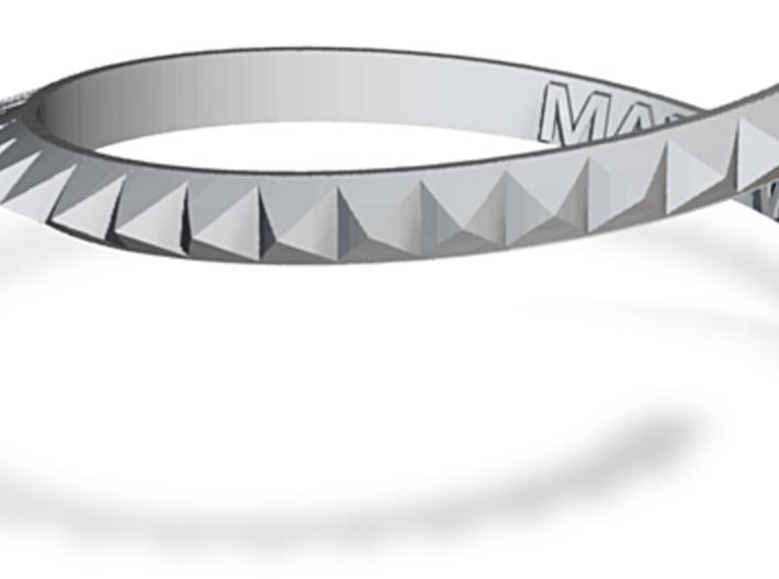 Ashton (Irwin) Stud Bracelet 3d printed