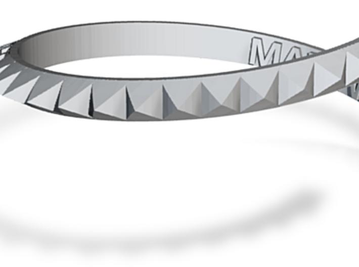 Michael (Clifford) Stud Bracelet 3d printed