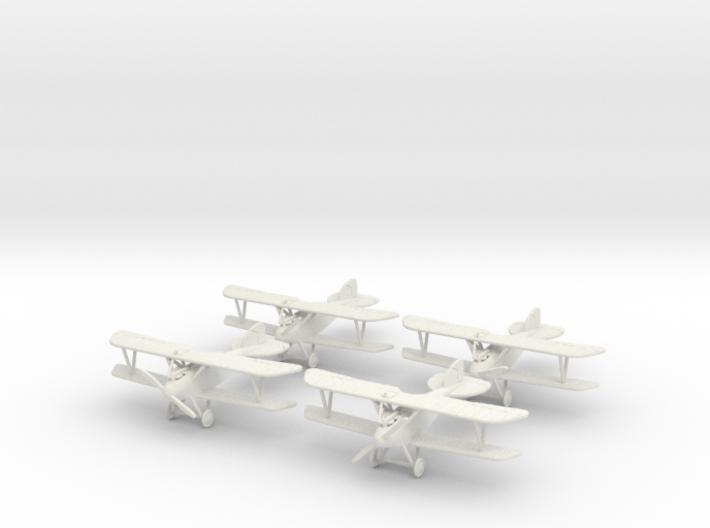 Albatros D.III 'Schwärm' 1:144th Scale 3d printed
