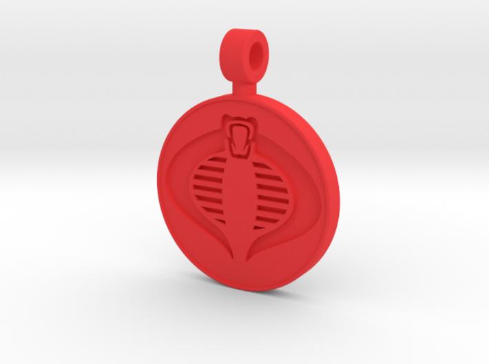 Cobra Pendant 3d printed