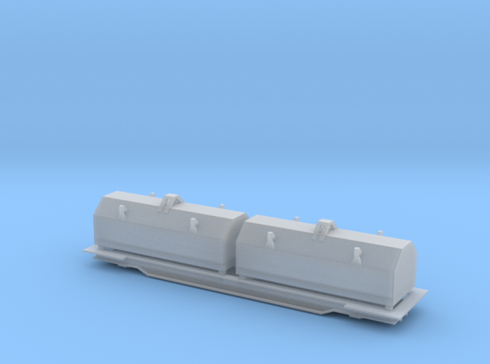Evans Coil Car - Zscale 3d printed