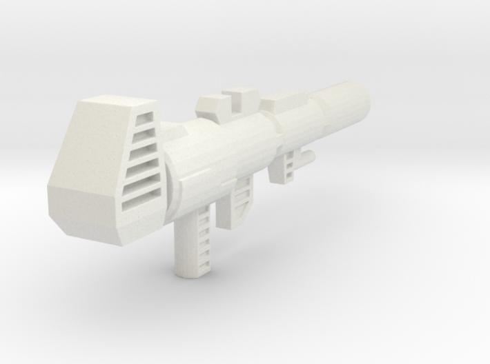 TF4: AOE Evasion Prime Ion Gun (G1 style) 3d printed