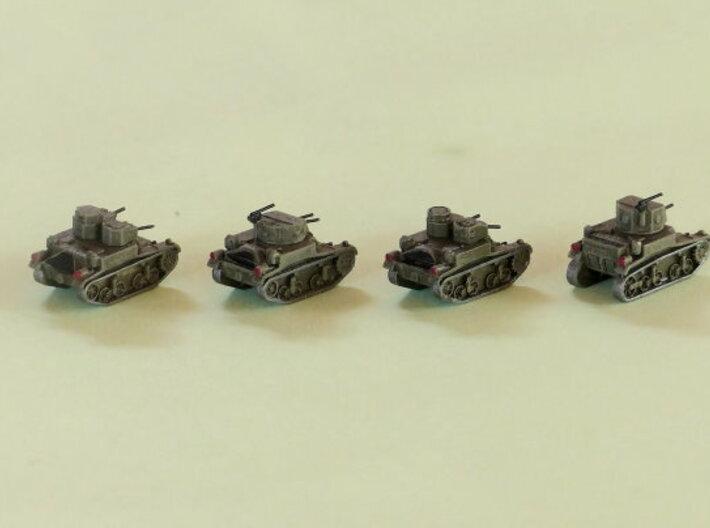 M1 & M2 Combat Cars / Light Tank 1/285 6mm 3d printed Add a caption...