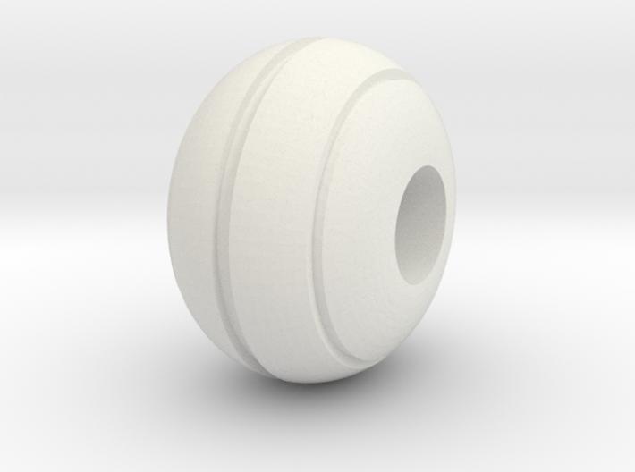 Stripe Bead 3d printed