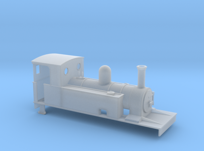 009 C&L inspired 4-4-0T 3d printed