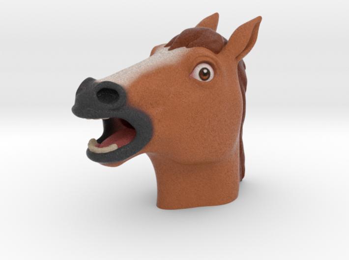 Creepy Horse Head 3d printed