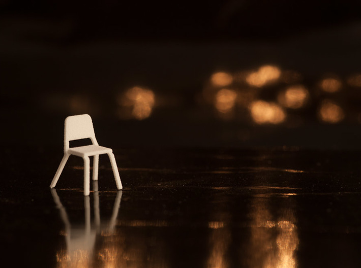 10 1:48 Wenger Orchestra Chairs 3d printed