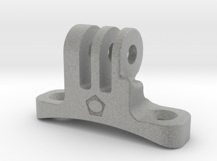 Go-pro-Helmount 3d printed