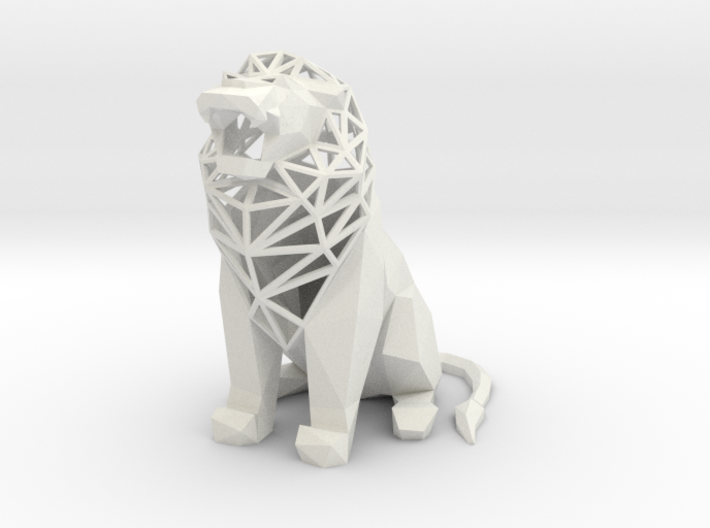Roaring Lion 3d printed