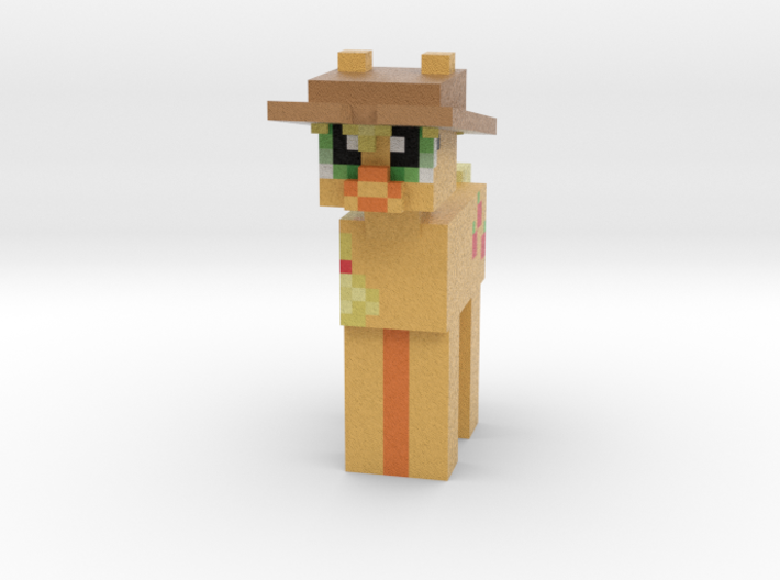 Applejack Hat 3d printed