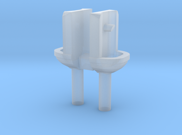 2 Handwaschbecken (N 1:160) 3d printed