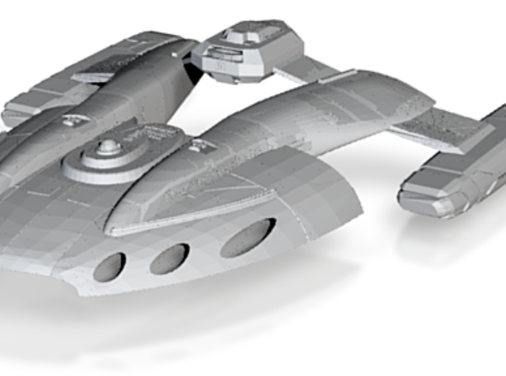 Mill Class GunDestroyer 3d printed