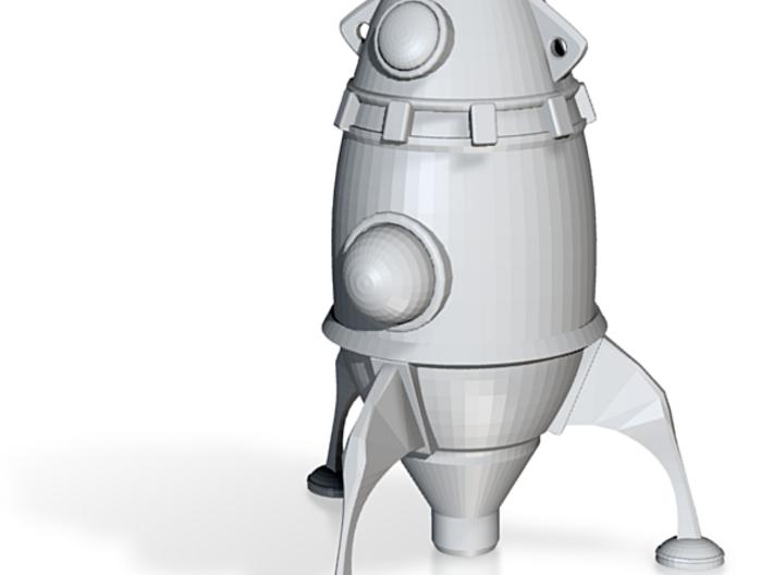 Cosmic Kidds Moon Rocket 3d printed