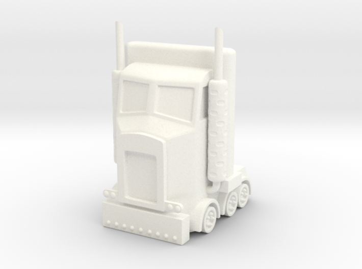 My Little Optimus Prime 3d printed
