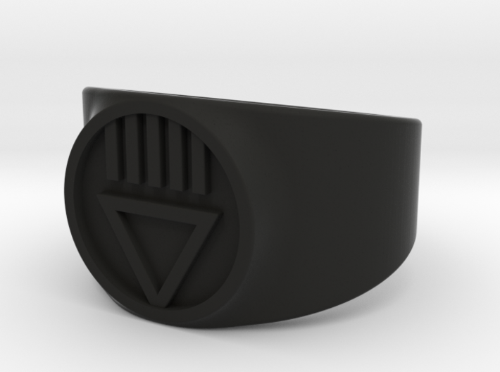 Black Death GL Ver 2 Ring Sz 11 3d printed