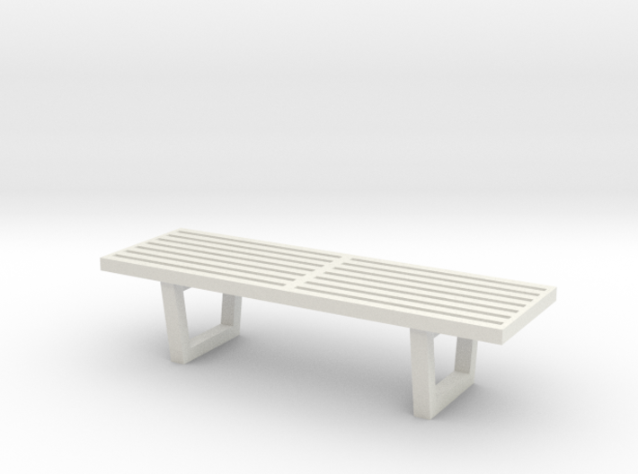 1:48 Nelson Bench 3d printed