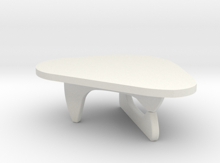 1:48 Noguchi Coffee Table 3d printed