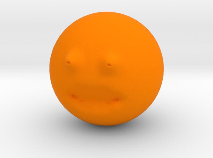 The Annoying Orange 3d printed