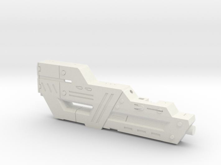 Carnifex Hand Cannon - Bottom Section 3d printed