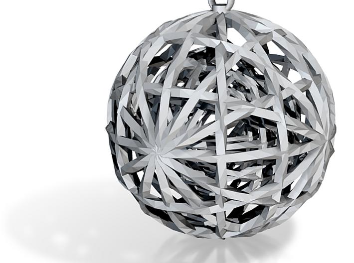 Spheres Pendant 3d printed