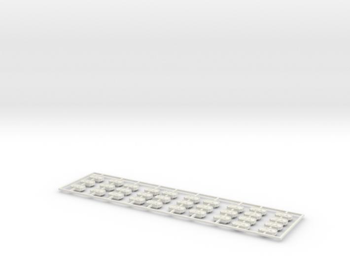 NA Number Plates(O/1:48) 3d printed