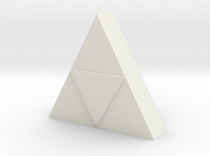 Triforce Model 3d printed