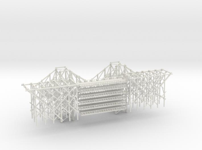 1-160 Bridge River Kwai 120 meters 3d printed